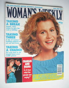<!--1991-07-30-->Woman's Weekly magazine (30 July 1991)