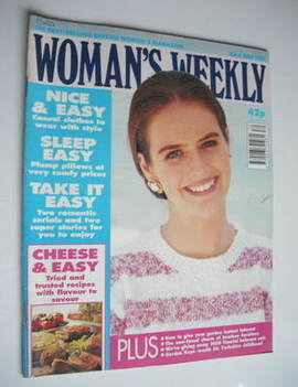 <!--1991-07-23-->Woman's Weekly magazine (23 July 1991)