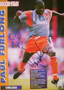 Paul Furlong autograph