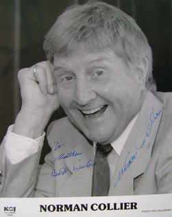 Norman Collier autograph