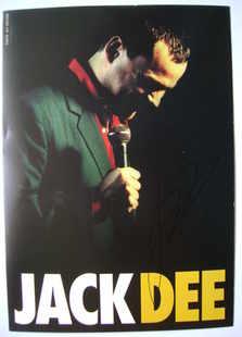 Jack Dee autograph