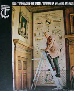 Weekend Telegraph magazine - Viscount Scarsdale cover (7 January 1966)