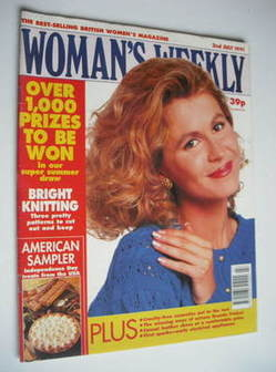 <!--1991-07-02-->Woman's Weekly magazine (2 July 1991)