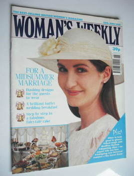 <!--1991-06-25-->Woman's Weekly magazine (25 June 1991)