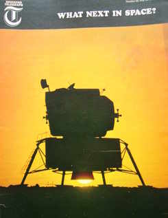 <!--1966-05-20-->Weekend Telegraph magazine - What Next In Space cover (20