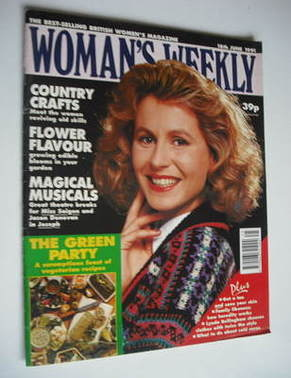 <!--1991-06-18-->Woman's Weekly magazine (18 June 1991)