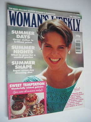 <!--1991-06-11-->Woman's Weekly magazine (11 June 1991)