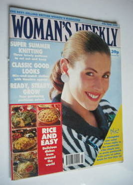 <!--1991-06-04-->Woman's Weekly magazine (4 June 1991)