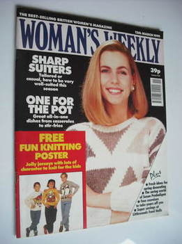 <!--1991-03-12-->Woman's Weekly magazine (12 March 1991)