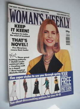 <!--1991-02-26-->Woman's Weekly magazine (26 February 1991)