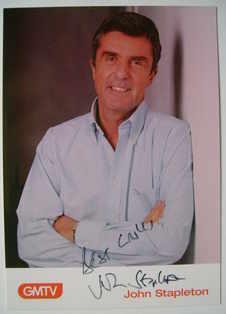 John Stapleton autograph