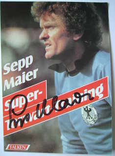 Sepp Maier autograph
