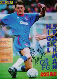 Nigel Spackman autograph