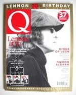Q magazine - John Lennon cover (November 2010 - Cover 4 of 4)