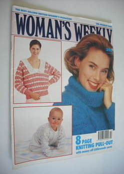 <!--1991-03-05-->Woman's Weekly magazine (5 March 1991)