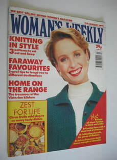 <!--1991-01-15-->Woman's Weekly magazine (15 January 1991)