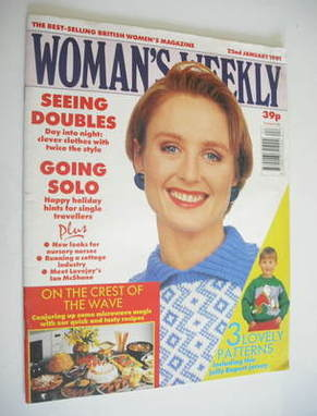 <!--1991-01-22-->Woman's Weekly magazine (22 January 1991 - British Edition