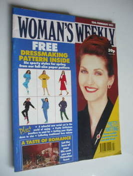 <!--1991-02-12-->Woman's Weekly magazine (12 February 1991)
