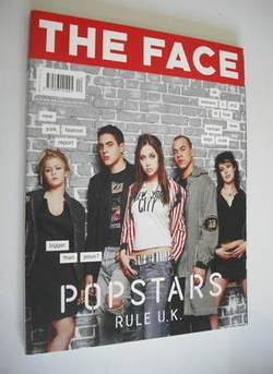 <!--2001-04-->The Face magazine - Hear'say cover (April 2001 - Volume 3 No.