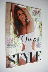 <!--2011-04-24-->Style magazine - Elizabeth Hurley cover (24 April 2011)