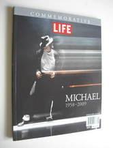 Life commemorative book - Michael Jackson cover