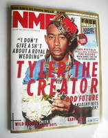 <!--2011-04-30-->NME magazine - Tyler, The Creator cover (30 April 2011)