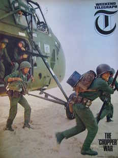 Weekend Telegraph magazine - The Chopper War cover (23 April 1965)