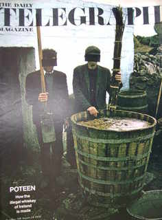 <!--1970-08-14-->The Daily Telegraph magazine - Poteen cover (14 August 197