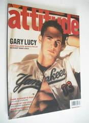 <!--2003-12-->Attitude magazine - Gary Lucy cover (December 2003)
