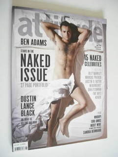 <!--2009-01-->Attitude magazine - Ben Adams cover (2009)