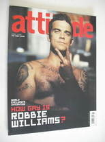 <!--2004-11-->Attitude magazine - Robbie Williams cover (November 2004)