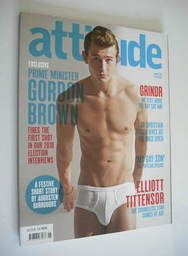 <!--2010-01-->Attitude magazine - Elliott Tittensor cover (January 2010)