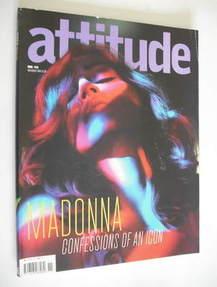 <!--2005-11-->Attitude magazine - Madonna cover (November 2005)