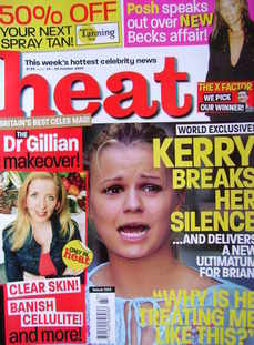 <!--2004-10-23-->Heat magazine - Kerry McFadden cover (23-29 October 2004 -