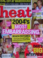 <!--2004-09-04-->Heat magazine - 2004's Most Embarrassing Beach Pictures cover (4-10 September 2004 - Issue 286)