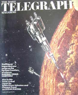 The Daily Telegraph magazine - Making Venus Habitable cover (30 April 1971)