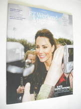 <!--2011-04-23-->FT Weekend magazine - Kate Middleton cover (23/24 April 20