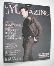 <!--2011-04-02-->The Times magazine - Matt Smith cover (2 April 2011)