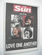 The Sun newspaper - The Beatles cover (1 December 2001)