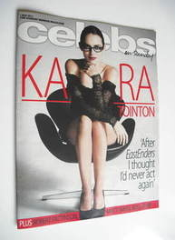 <!--2011-05-01-->Celebs magazine - Kara Tointon cover (1 May 2011)