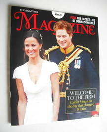 <!--2011-05-07-->The Times magazine - Prince Harry and Pippa Middleton cove