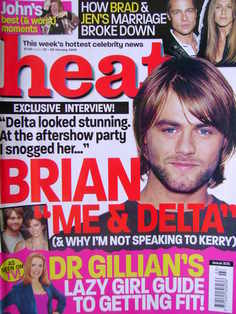 <!--2005-01-22-->Heat magazine - Brian McFadden cover (22-28 January 2005 -