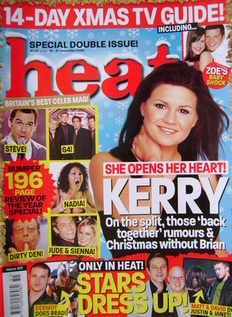 <!--2004-12-18-->Heat magazine - Kerry Katona cover (18-31 December 2004 -