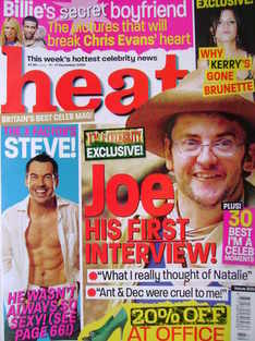 <!--2004-12-11-->Heat magazine - Joe Pasquale cover (11-17 December 2004 -