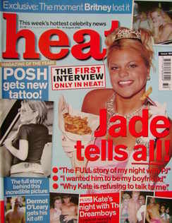 <!--2002-08-10-->Heat magazine - Jade Goody cover (10-16 August 2002 - Issu