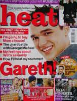 <!--2002-03-23-->Heat magazine - Gareth Gates cover (23-29 March 2002 - Issue 160)