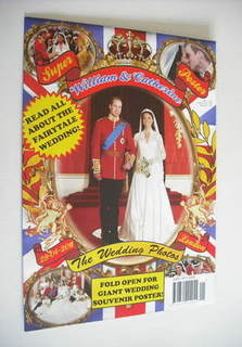 Prince William and Kate Middleton Royal Wedding poster magazine