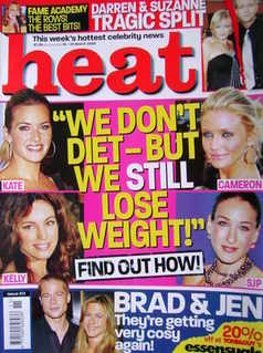 <!--2005-03-19-->Heat magazine - We Don't Diet-But We Still Lose Weight cov