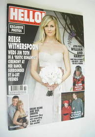 <!--2011-04-11-->Hello! magazine - Reese Witherspoon cover (11 April 2011 -