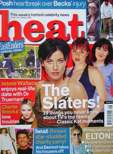 <!--2002-04-20-->Heat magazine - The Slaters cover (20-26 April 2002 - Issu